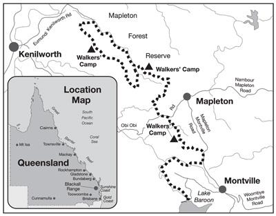 The Hinterland Great Walk Montville Getaways